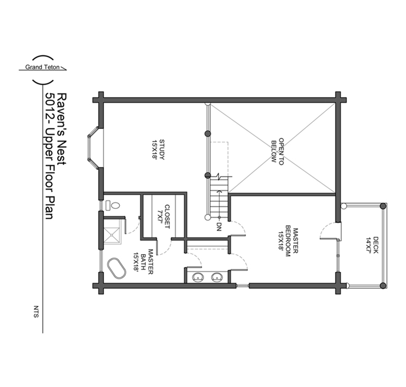 Ravens Nest Floor Plan
