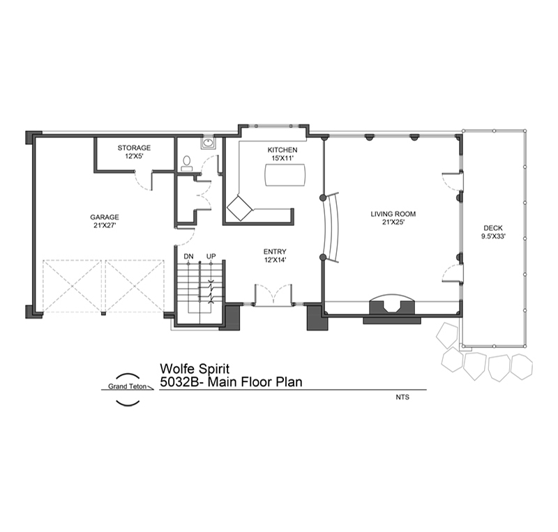 Wolfe Spirit Floor Plan