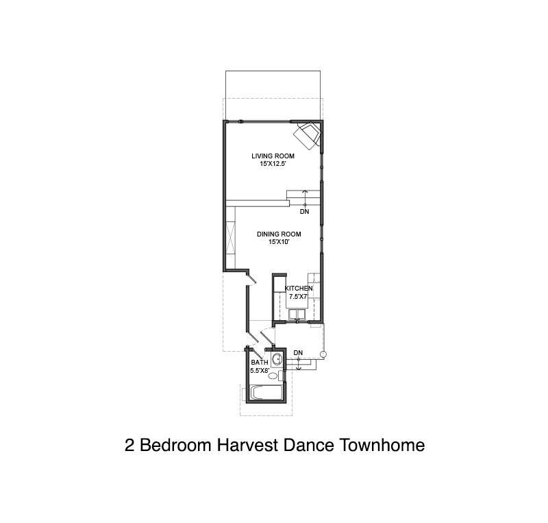 Harvest Dance Townhome Floor Plan